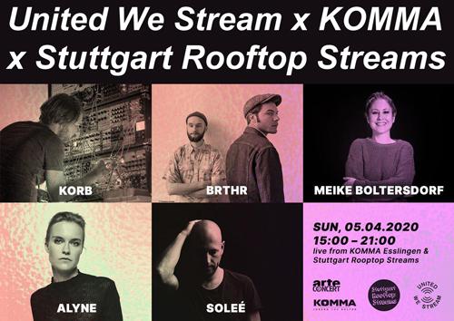 United-We-Stream-Komma-X-Rootop