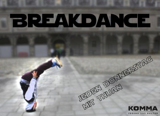 Plakat Breakdance