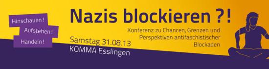 Blockade Konferenz