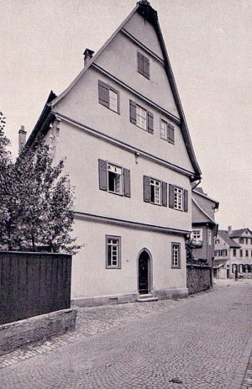 Synagoge im Heppächer, die geplünert und demoliert wurde
