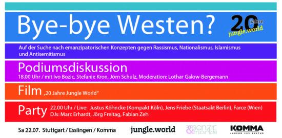 Jungle-world Anzeige
